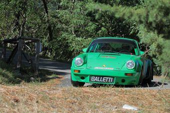 Alberto Savini atrizio Maria Salerno (Rally Club Sandroo Minari, Porsche 911RS # 1), CAMPIONATO ITALIANO RALLY AUTO STORICHE