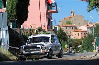 Giorgio Santagiuliana Mateo Zoso (Team Bassano, Autobianchi A112 Abarth # 204), CAMPIONATO ITALIANO RALLY AUTO STORICHE