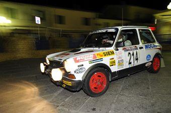 Ivano Scotti Roberto Carnio (Team Bassano, Autobianchi A112 Abarth  214), CAMPIONATO ITALIANO RALLY AUTO STORICHE