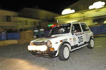 Giorgio Sisani Flavio Minozzi (Team Bassano, Autobianchi A112 Abarth # 205), CAMPIONATO ITALIANO RALLY AUTO STORICHE