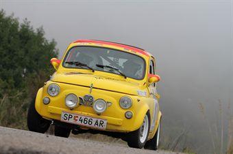 Enrico Vazzola Sandro Adorni (Conegliano Corse, Steyr Puch 650 TR # 107), CAMPIONATO ITALIANO RALLY AUTO STORICHE