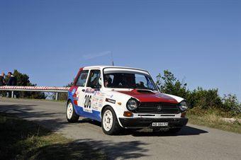 Fabio Vezzola Erika Vezzola (Team Bassano, Autobianchi A112 Abarth # 206), CAMPIONATO ITALIANO RALLY AUTO STORICHE