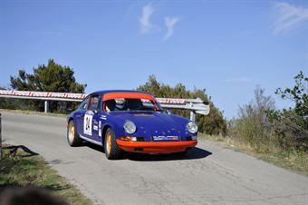 Luigi Zampaglione Giuseppe Li Vecchi (Porsche 911 S # 24), CAMPIONATO ITALIANO RALLY AUTO STORICHE