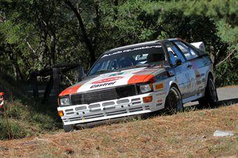 Andrea Zivian Fabio Ceschino (Movisport, Audi Quattro # 26), CAMPIONATO ITALIANO RALLY AUTO STORICHE