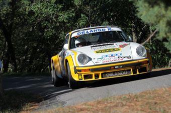 Marco Zucchi Michela Zucchi (Autorlando Sport, Porsche 911 SC # 31), CAMPIONATO ITALIANO RALLY AUTO STORICHE