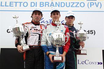 KF2   Podio gara 1, CAMPIONATO ITALIANO ACI KARTING