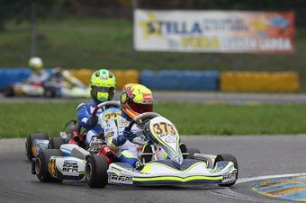 KF3   Lando Norris (FA Kart Vortex), CAMPIONATO ITALIANO ACI KARTING