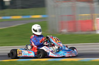 KF2   Lorenzo Giannoni (Energy Tm), CAMPIONATO ITALIANO ACI KARTING