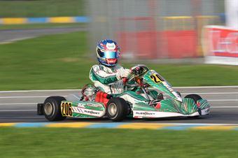 KF2   Daniele Galbiati (Tony Kart Vortex), CAMPIONATO ITALIANO ACI KARTING