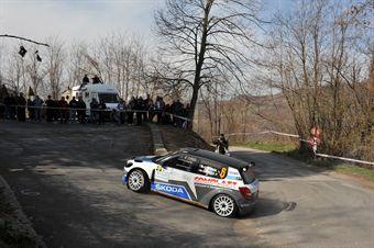 Marco Signor (ITA) Patrik Bernardi (ITA), Skoda Fabia S2000, CAMPIONATO ITALIANO RALLY