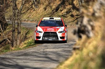 Massimiliano Rendina (ITA) Mario Pizzuti (ITA), Mitsubishi Lancer Evo X N4, Rally Project, CAMPIONATO ITALIANO RALLY