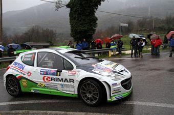 Basso Giandomenico, Dotta Mitia (Peugeot 207 S2000 #1, Movisport) , CAMPIONATO ITALIANO RALLY