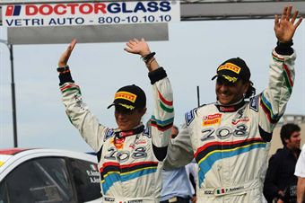 Paolo Andreucci, Anna Andreussi (Peugeot 207 S2000 #103, Racing Lions) (race winner), CAMPIONATO ITALIANO RALLY SPARCO