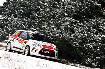 WORLD RALLY CHAMPIONSHIP 2013   RALLYE MONTE CARLO  VALENCE (FRA) MONACO (MC) WRC 15/01/2013 TO 20/01/2013   PHOTO :  ANDRE LAVADINHO , CAMPIONATO ITALIANO RALLY SPARCO