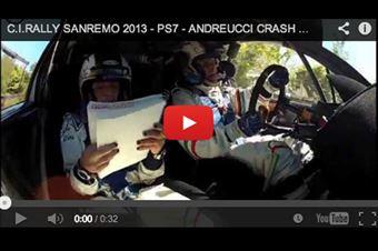 Sanremo_Camera_Car_Andreucci_Peugoet_207_S2000_2013, CAMPIONATO ITALIANO RALLY SPARCO