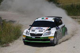 Umberto Scandola , Guido D'amore (Skoda Fabia S2000 #1, Skoda Motorsport Italia), CAMPIONATO ITALIANO RALLY SPARCO