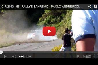 Video_PAolo_Andreucci_Peugeot_207_S2000_Sanremo_2013, CAMPIONATO ITALIANO RALLY