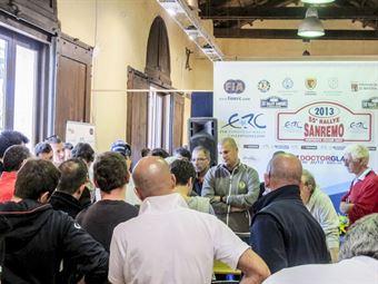 55_Rallye_Sanremo_Briefing_2013, CAMPIONATO ITALIANO RALLY SPARCO