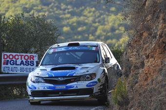 Andreas Aigner, Barbara Watzl (Subaru Impreza STI #7, Stohl Racing), CAMPIONATO ITALIANO RALLY SPARCO