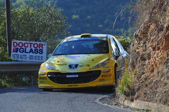 Stefano Albertini, Simone Scattolin (Peugeot 207 S2000 #11), CAMPIONATO ITALIANO RALLY SPARCO