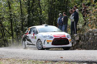 Fabio Andolfi, Renzo Casazza (Citroen DS3 5 R3T #37, Sport Management), CAMPIONATO ITALIANO RALLY SPARCO