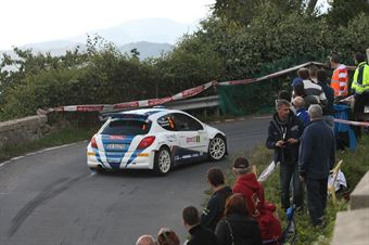Paolo Andreucci, Anna Andreussi (Peugeot 207 S2000 #5, Racing Lions), CAMPIONATO ITALIANO RALLY SPARCO