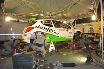Giandomenico Basso, Mitia Dotta (Peugeot 207 #2, Movisport), CAMPIONATO ITALIANO RALLY SPARCO