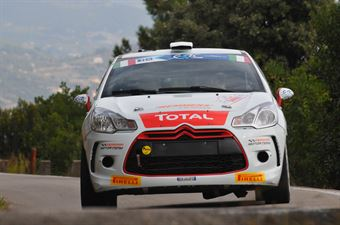 Mathieu Biasion, Philippe Coquard (Citroen DS3 R3T #35, Motor Team Srl), CAMPIONATO ITALIANO RALLY SPARCO