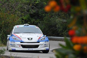 Bryan Bouffier, Xavier Panseri (Peugeot 207 S2000 #3, Delta Rally), CAMPIONATO ITALIANO RALLY SPARCO