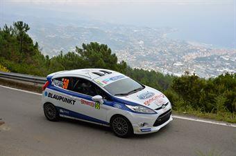 Matteo Brunello, Luca Zanrosso (Ford Fiesta R2B #50, Gass Racing Srl), CAMPIONATO ITALIANO RALLY SPARCO