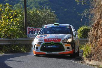 Simone Campedelli, Danilo Fappani (Citroen DS3 R3T #34, Rubicone Corse), CAMPIONATO ITALIANO RALLY SPARCO