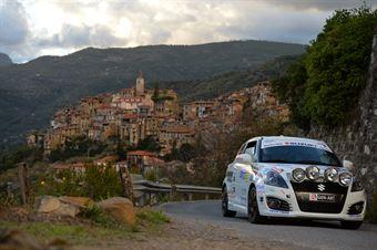 Marco Cappello, Simone Fabbian (Suzuki Swift #250, Millenium Sport Promotion), CAMPIONATO ITALIANO RALLY SPARCO