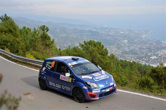 Andrea Carella, Ilaria Riolfo (Renault Twingo R2B #49, Meteco Corse Srl), CAMPIONATO ITALIANO RALLY SPARCO