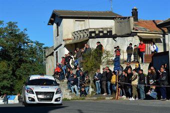 Gino Cerutti, Clemente Musiari (Suzuki Swift #239, Asd G.R. Sport), CAMPIONATO ITALIANO RALLY SPARCO