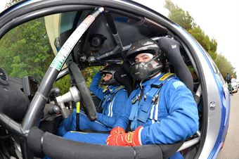 Andrea Crugnola, Michele Ferrara (Etruria Renault Twingo R2B #47), CAMPIONATO ITALIANO RALLY SPARCO