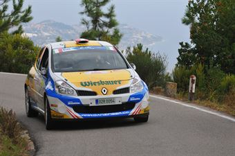 Hannes Danzinger, Kathi Wustenhagen (Renault Clio R3C #38), CAMPIONATO ITALIANO RALLY SPARCO