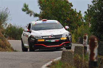 Federico Gasperetti, Federico Ferrari (Renault Megane RS #24, Pistoia Corse), CAMPIONATO ITALIANO RALLY SPARCO
