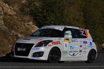 Roberto Mollo, Franco Piovano (Suzuki Swift #249, Meteco Corse Srl), CAMPIONATO ITALIANO RALLY SPARCO