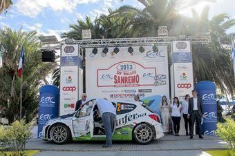 Partenza_55_Rallye_Sanremo_Basso_Dotta_Peugeot_207_S2000, CAMPIONATO ITALIANO RALLY SPARCO