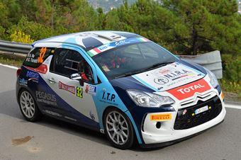 Alessandro Re, Giulio Turatti (Citroen DS3 R3T #32, Giesse Promotion), CAMPIONATO ITALIANO RALLY SPARCO