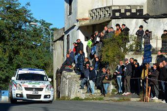 Gianluca Saresera, Manuel Fenoli (Suzuki Swift #237, Scuderia Just Race Asd), CAMPIONATO ITALIANO RALLY SPARCO