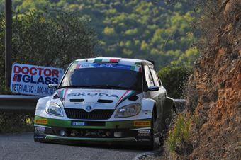 Umberto Scandola, Guido D Amore (Skoda Fabia S2000 #4, Car Racing), CAMPIONATO ITALIANO RALLY SPARCO