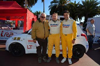 Massimo Nicoletti, Alessandro Uliana, Corrado Bonato (Suzuki Swift #238, Trt La Scuderia Asd), CAMPIONATO ITALIANO RALLY SPARCO