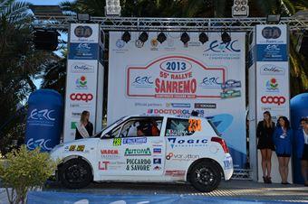 Alessandro Uliana, Corrado Bonato (Suzuki Swift #238, Trt La Scuderia Asd), CAMPIONATO ITALIANO RALLY SPARCO