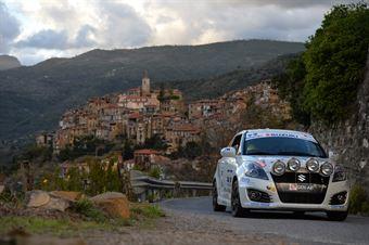 Filippo Visconti, Filippo Gravaghi (Suzuki Swift #247, Asd Scuderia Proracing), CAMPIONATO ITALIANO RALLY SPARCO