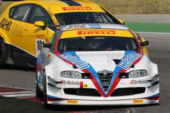 Lacorte Sernagiotto (Spider Racing Team, Alfa Romeo GT 2000 B24H2.0 #204), TCR ITALY TOURING CAR CHAMPIONSHIP