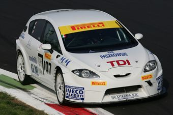 Emanuele Alborghetti (MM Motorsport, Seat Leon TD1 #107) , TCR ITALY TOURING CAR CHAMPIONSHIP