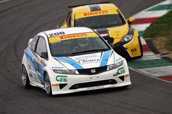 Piccin Piccin (Honda Type RS 2000, #208) , TCR ITALY TOURING CAR CHAMPIONSHIP