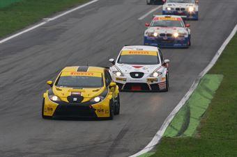 Busnelli Moccia (DTM Motorsport, Seat Leon Lon Run   B 2.0T #1) , TCR ITALY TOURING CAR CHAMPIONSHIP