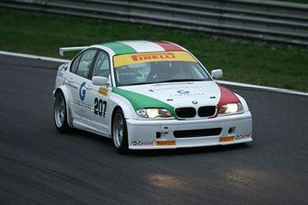 Manuel Flaminio (Pro Motorsport, BMW 320i E46 B 24h 2.0 #207) , TCR ITALY TOURING CAR CHAMPIONSHIP